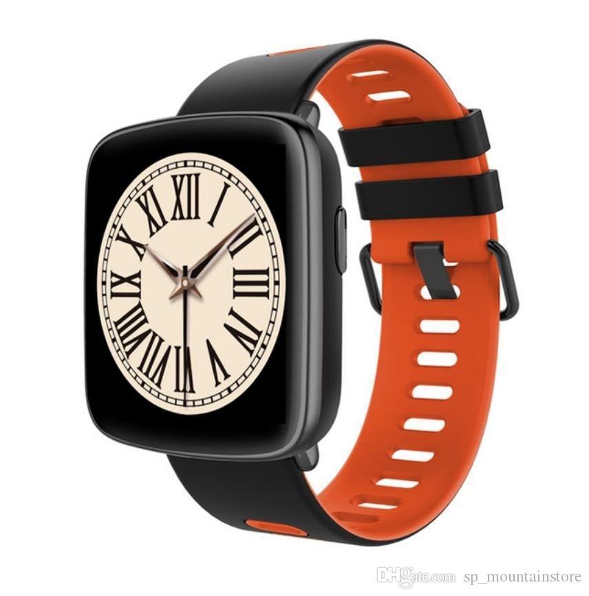 GV68 Smart Watch Wasserdichte Ip68 Pulsmesser Bluetooth Smartwatch Schwimmen mit austauschbaren Trägern für iOS Android (Einzelhandel)