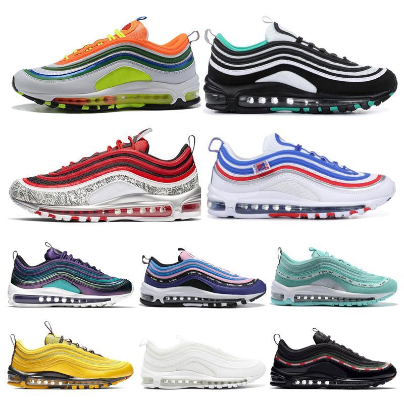 Hommes Chaussures de course NEON SEOUL Throwback Bright Future Jayson Tatum Lridescent Femmes Hommes argent blanc Entraîneur Cool Sports Sneakers 36-45