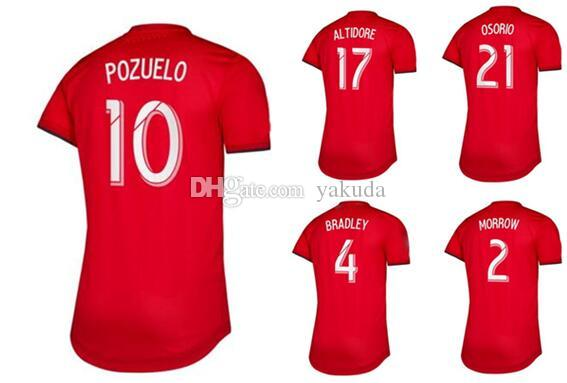 Customized 19-20 men 21 OSORIO 17 ALTIDORE 10 POZUELO 4 BRADLEY 2 MORROW Thai Quality sports jerseys near me,home online store for sale