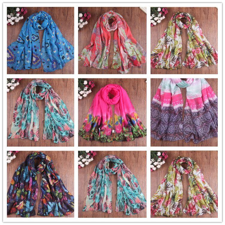 2018 nouveau source de printemps écharpe foulard foulard femme cramponnée écharpe élégante écharpe de la plage de la plage d'hiver