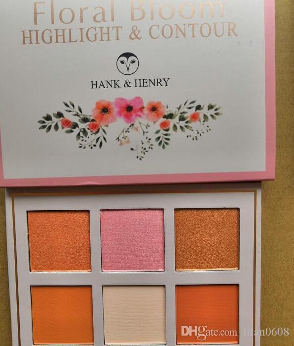 Brand Makeup6Color Blush Bronzer Baked Cheek Color Blusher Palettes, fondazione di colori diversi
