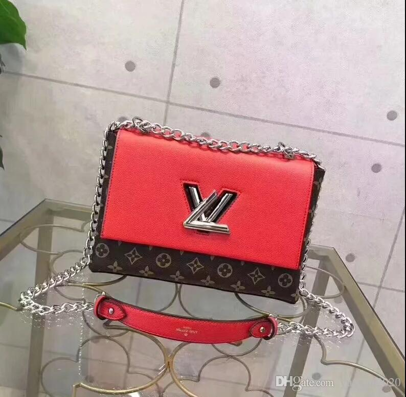 2020 High Quality Classic Fashion Style Women's Handbags Shoulder Purse Bags Messenger Wallet Bag Lady Totes Bags and Dust Free shipping T03