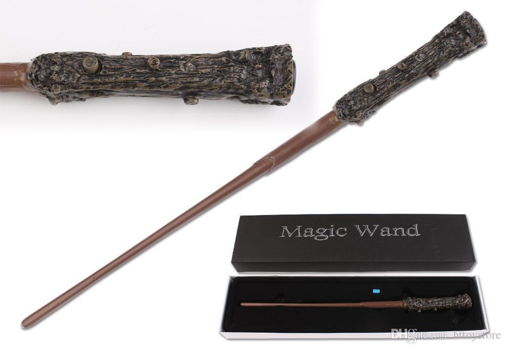 ht hxldollstore iluminação led Harry Potter varinha presente de Natal Harry Potter mágico Wand New In Box