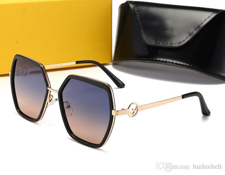 2020 nuovi occhiali da sole polarizzati retrò di guida gli occhiali da sole vacanza selvaggia di diamanti di viaggio occhiali da sole con la scatola originale 22060