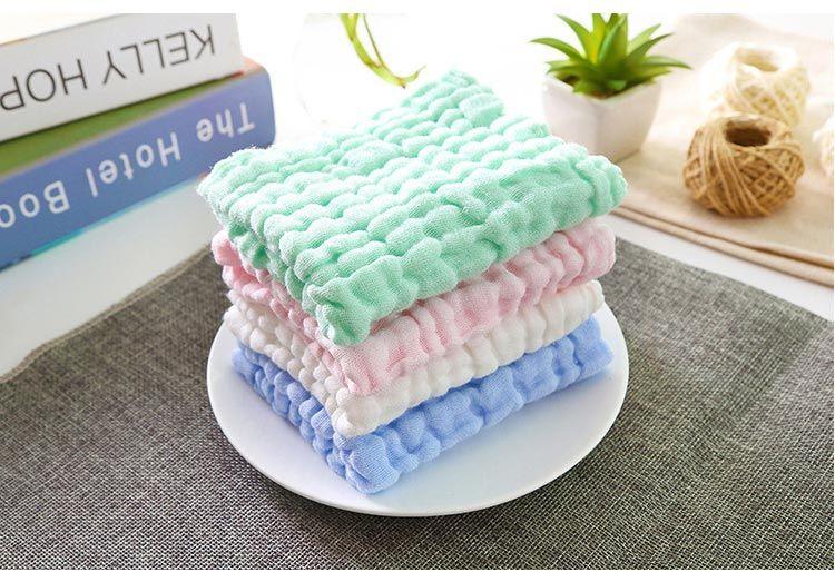 Lavare piccolo asciugamano, assorbenti, bambino glabro, tovagliolo della saliva, del bambino del cotone, bambino doccia, piccolo asciugamano sudore piazza