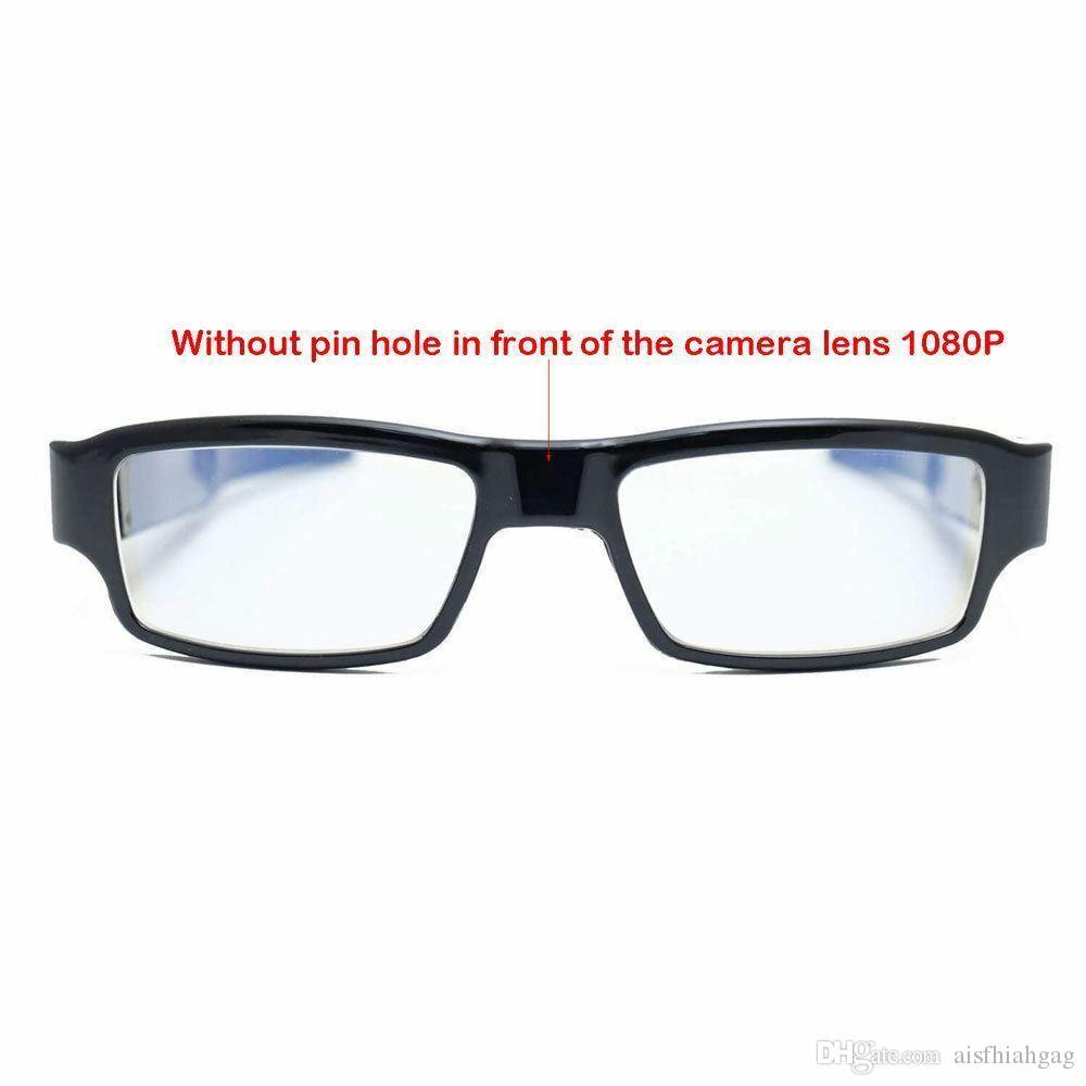 1080P HD Glasses Spy Hidden Camera Eyewear DVR Video DV Recorder Cam WITH Case