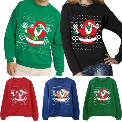 Ugly Christmas Sweaters 2019.2019 Autumn Winter New Xmas Sweaters Ugly Christmas Sweater Couple Matching Clothes Unisex Outfits For Lovers Women Men From Art03 17 96