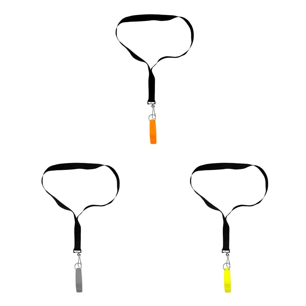 Safety Whistle Signal with Clip for Hiking Kayak Emergency Survival Rescue