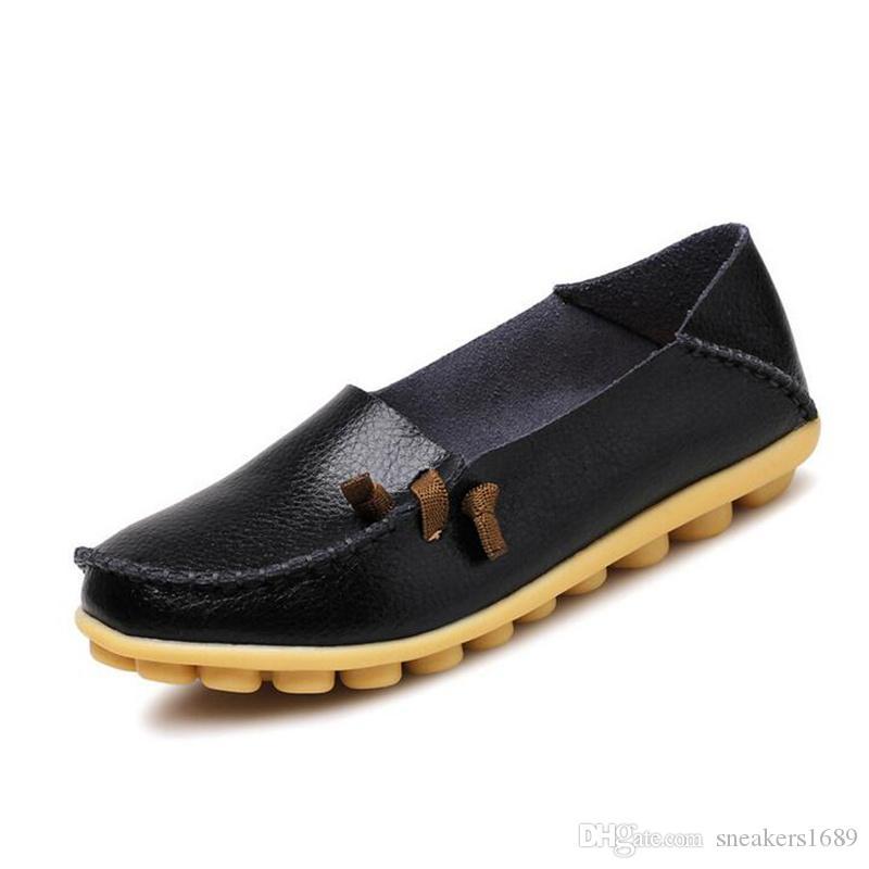 20 arten handgefertigte schuhe leder flache frauen casual schuhe weiche einzelne beiläufige schuhe 3D blume form zapatos mujer große größe 34-44 X106