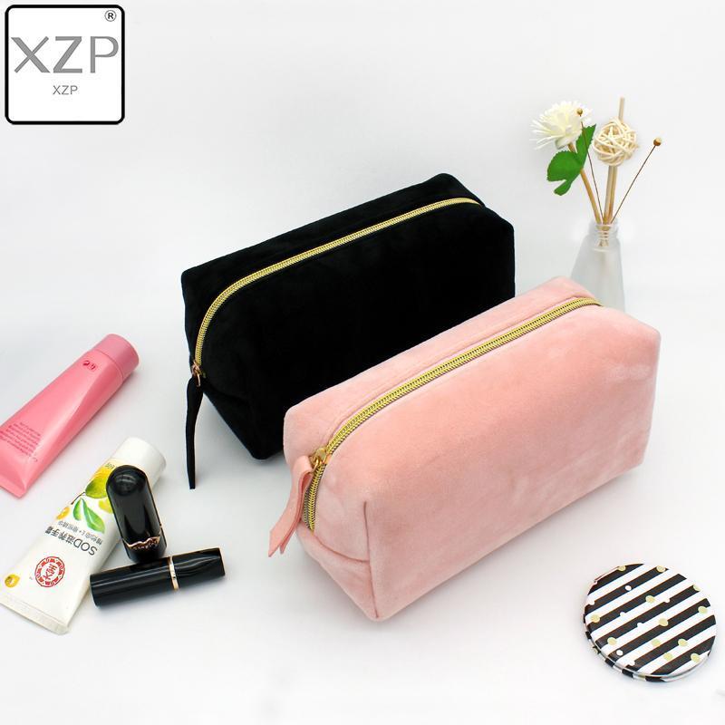 Almacenamiento multifunción Artículos de aseo Cosméticos Mujeres Mujeres Bolsas de viaje Organizador Maquillaje Color XZP UP Hacer caja sólida Necesarias UFBHD