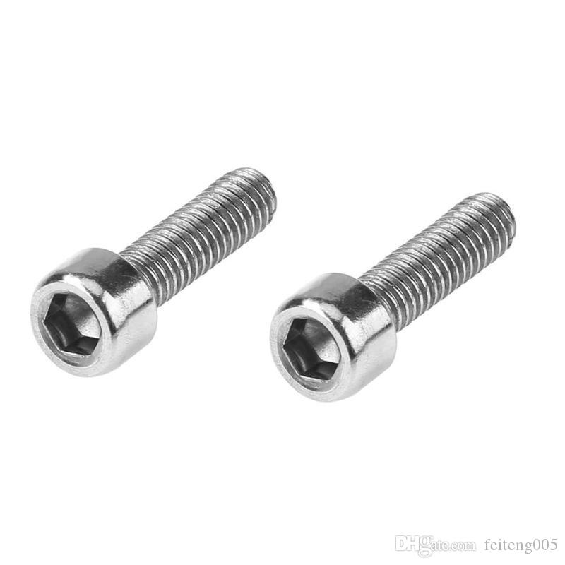 2pcs/bag Metal Hex Tapping Screw Bike Water Bottle Bracket Rack Screw Cycling Accessories For Bicycle Bottle Frames Holders #26011