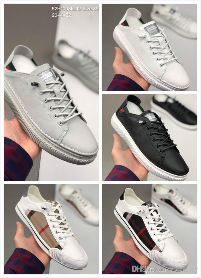 Модные мужские повседневные кожаные кроссовки Роскошные дизайнерские кроссовки черный белый серый сетка летняя обувь мужские кроссовки 39-44