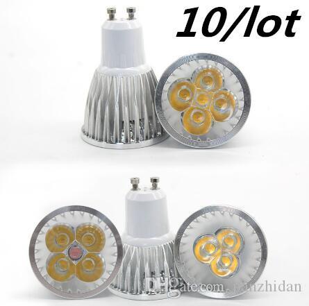 20 adet LED Lamba Dim GU10 MR16 E27 LED Işık Spot LED Ampul Downlight Lambaları
