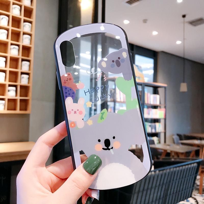 Karikatür Koala Unicorn Kadınlar Tasarımcı Telefon Kılıfları Moda Kapak IPhone için 11 X 7Plus 8P 7 8 6P 6SP 6 6S Marka Sıcak Satış Moda B101707V