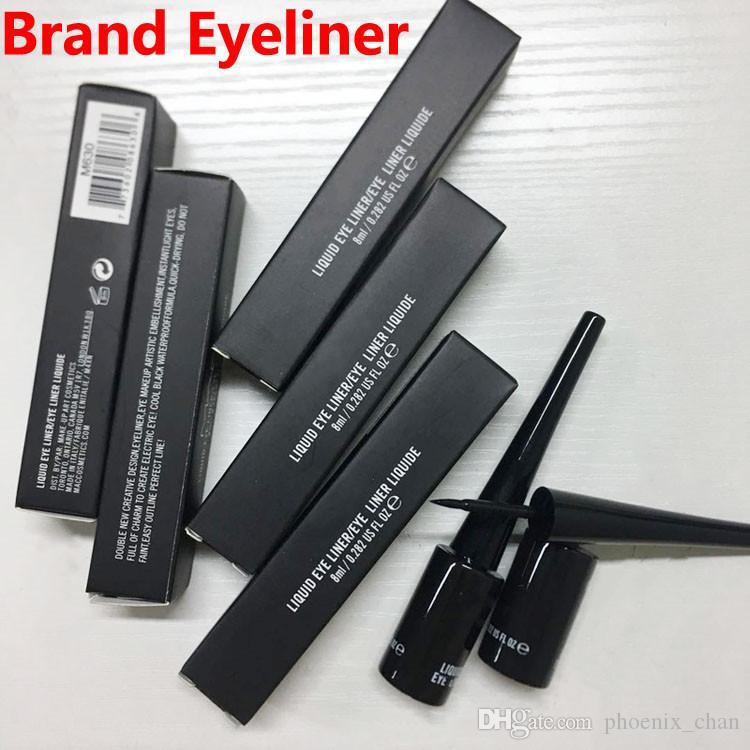Марка Eyeliner жидкость для глаз Eye Liner Liquide Длительная 8ML водонепроницаемый подводка для глаз карандаш высокого качества макияж DHL бесплатная доставка