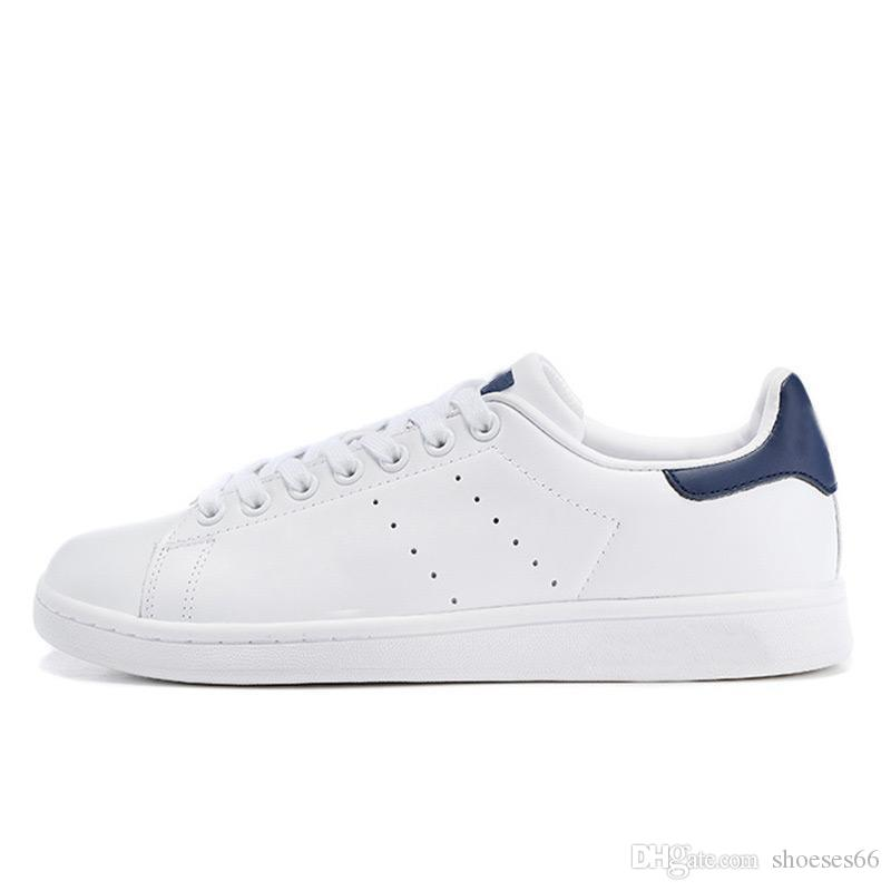 2019 stan shoes fashion Top quality mens womens new casual shoes leather Shoes size eur 36-45
