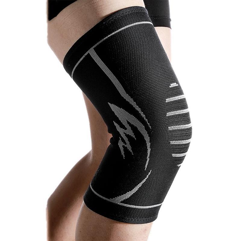 Sports Knee Knit Pads cinta do pé ajustável Outdoor equitação Elastic Quente Knee Guard antiderrapante Protector