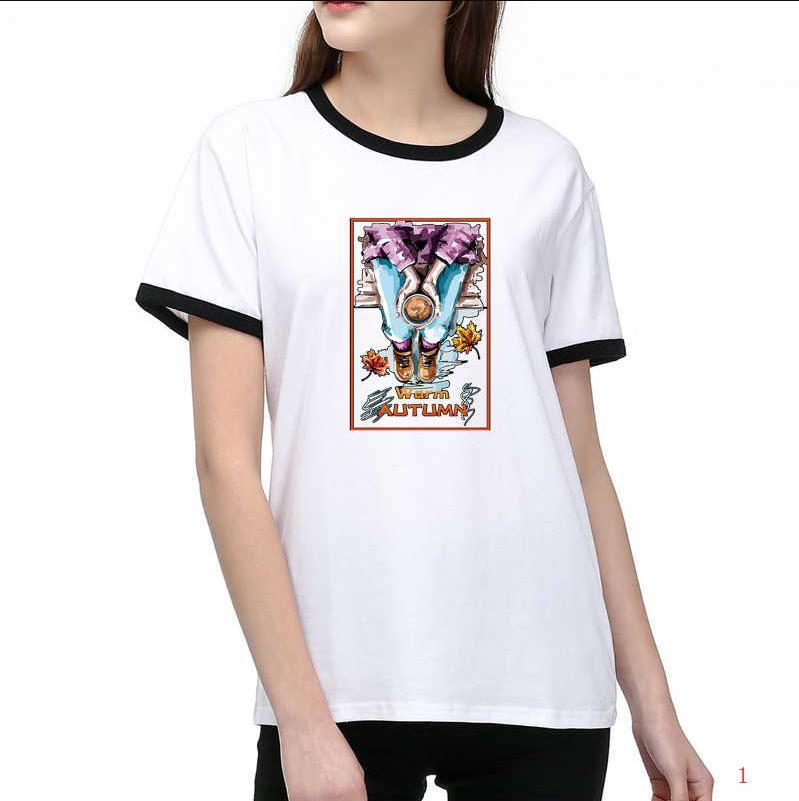 Marca para mujer T Shirts Diseñador de lujo lindo camisetas impresas Nueva llegada del verano C0py camiseta 2 colores asiática tamaño S-2XL T003A437