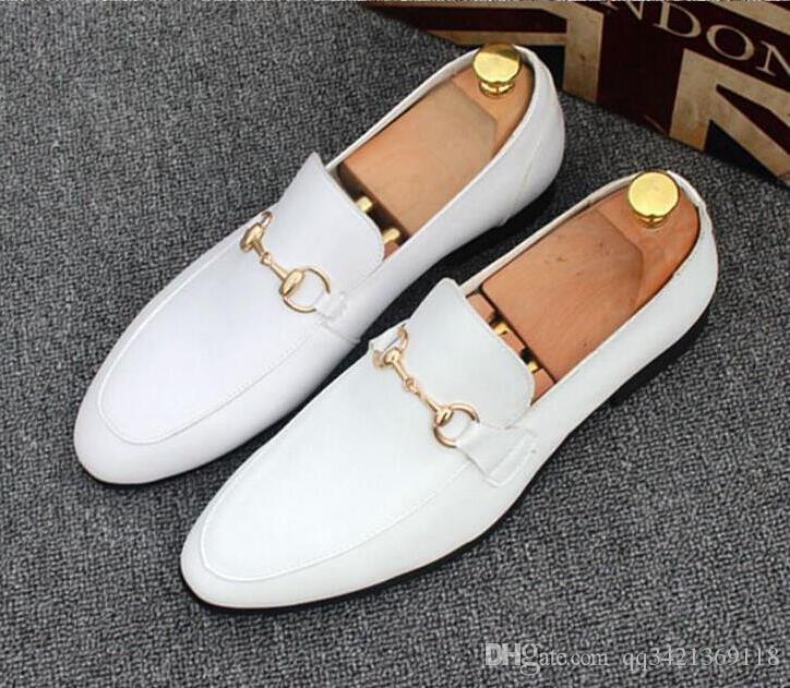 luxury designer shoes for men Light Horsebit leather loafer heel folded down or up Leather sole mens moccasins loafers symbolic gold-tone
