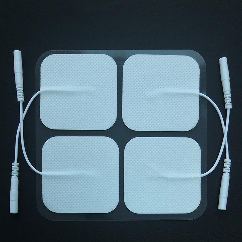 Patch per elettrodi TENS Unit 20Pcs Pack riutilizzabili Max oltre 20 volte con prestazioni Self-Stick e design non irritante per elettroterapia
