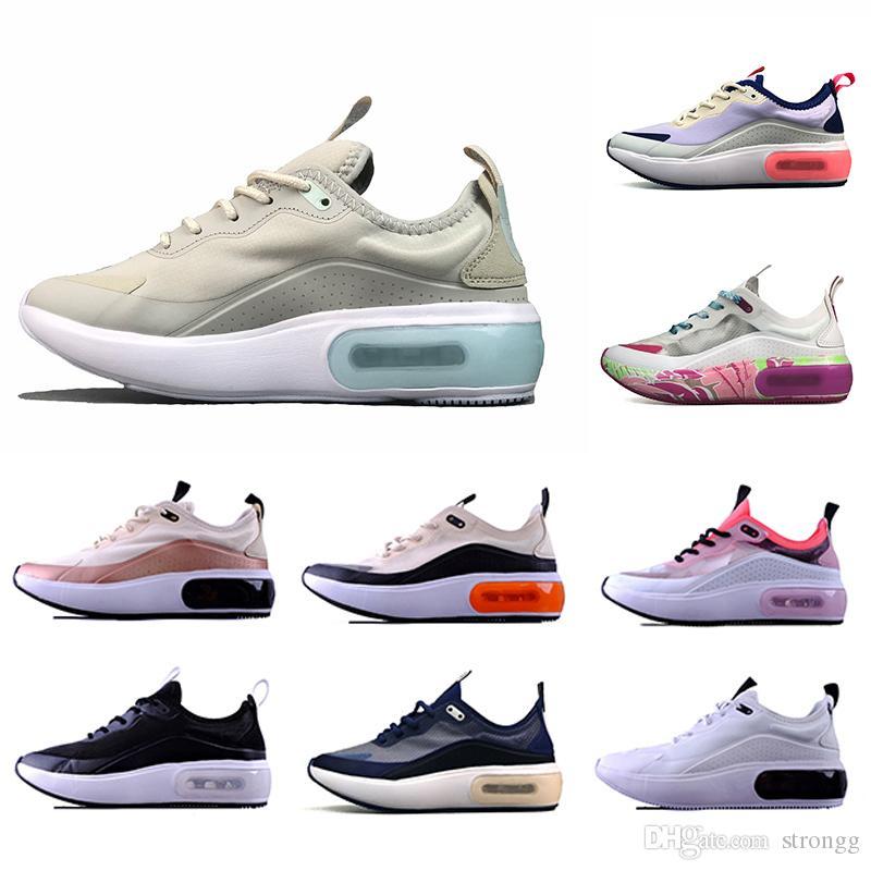 Compre Nike Air Max Dia Airmax Dia Shoes 2020 Dia Se Laser Fuchsia  Zapatillas De Running Hombre Negro Blanco Rojo Gris Dias Se Racer Mujer  Hombre ...