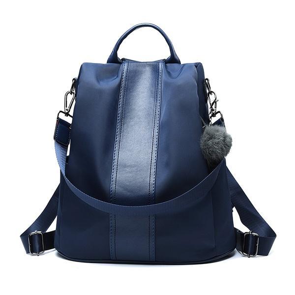 Women Backpack Purse Nylon Anti-theft Rucksack Lightweight School Shoulder Bag