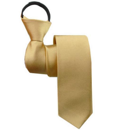 2018 Herrenmode faule Zipper-Ansatz-Ring Krawatte Krawatten feste beiläufige Freizeit Geschäfts-Hals-Bindung für Partei-Hochzeit gravata AS1648