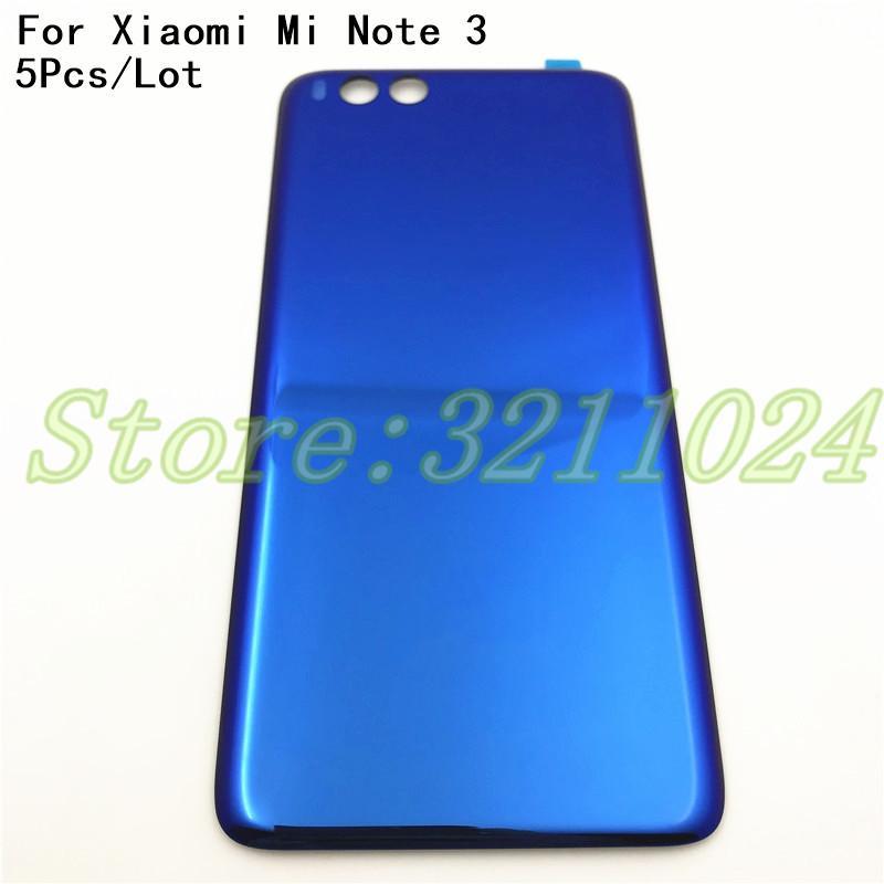 Compre 5 Pçs / Lote Para Xiaomi Mi Nota 3 Note3 Bateria Caso Bateria De  Volta Case Capa Substituição Para Xiaomi Mi Note 3 Acessórios Para Celular  De