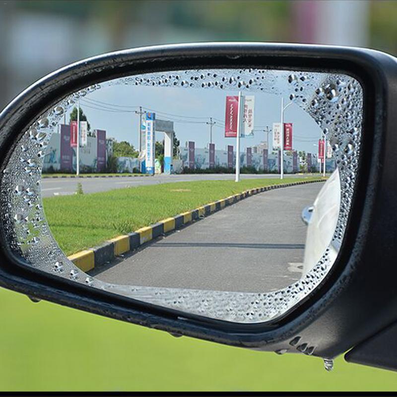 2pcs Car Rearview Mirror Waterproof Anti-Fog Rain-Proof Film Side Window Film