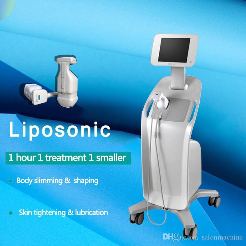 2 en 1 HIFU Liposonic Ultrasonido enfocado de alta intensidad HIFU Cartuchos Liposonix HIFU Lipo Lifting facial Adelgazamiento del cuerpo