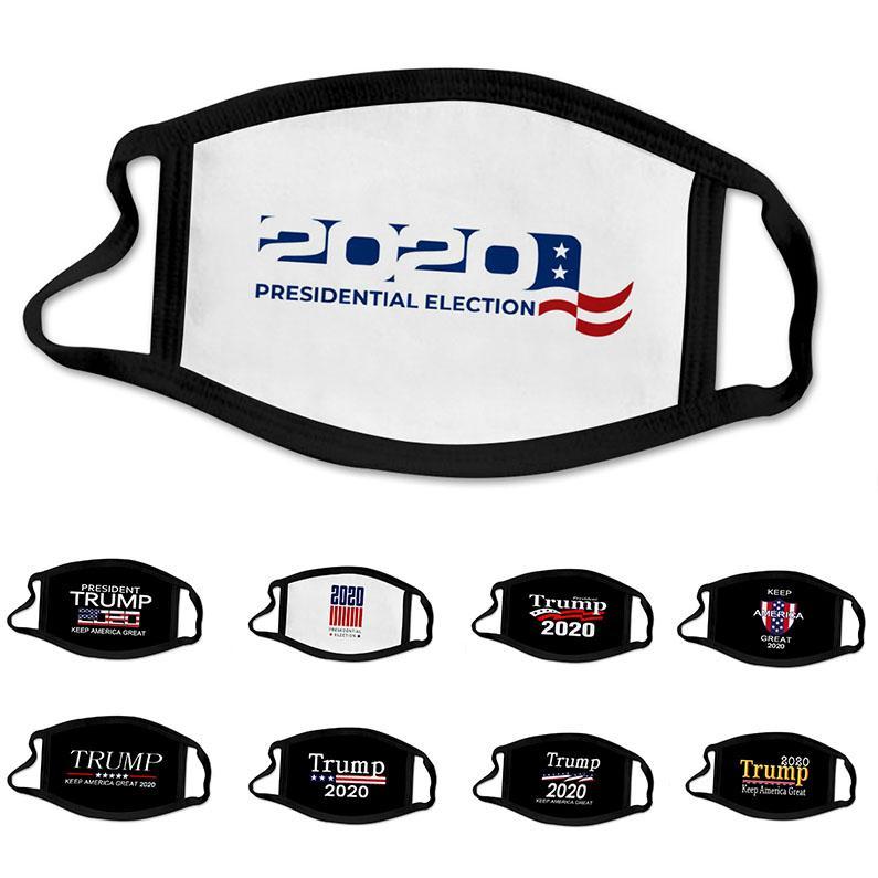 20pcs concepteur masque facial 2020 Trump mode enfants de la campagne électorale présidentielle face à des masques masques Trump masque d'impression Trump