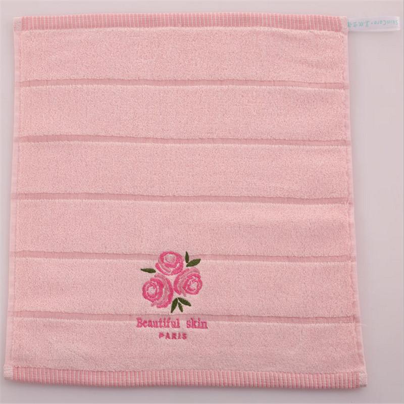 الوردي لطيف جاف حمام منشفة الوردي روز العطر 70x140 سنتيمتر 100٪ ٪ وجه الطفل منشفة ناعمة مطرزة منشفة سريعة x051