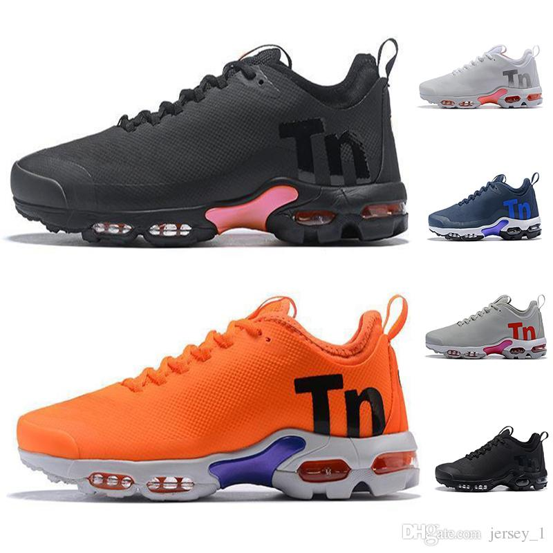 in stock outlet boutique running shoes 2019 2019 New Mens Tn Plus Ultra SE Running Shoes Top Quality Black White  Orange Desinger Shoe Women MenTrainers Sports Sneakers From Jersey_1,  $83.86 ...