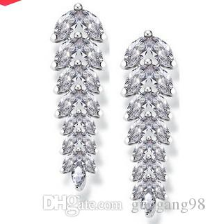 chaming 크리스탈 다이아몬드 보석 스톤 tassels 숙녀의 earings (16.73) ffghfg