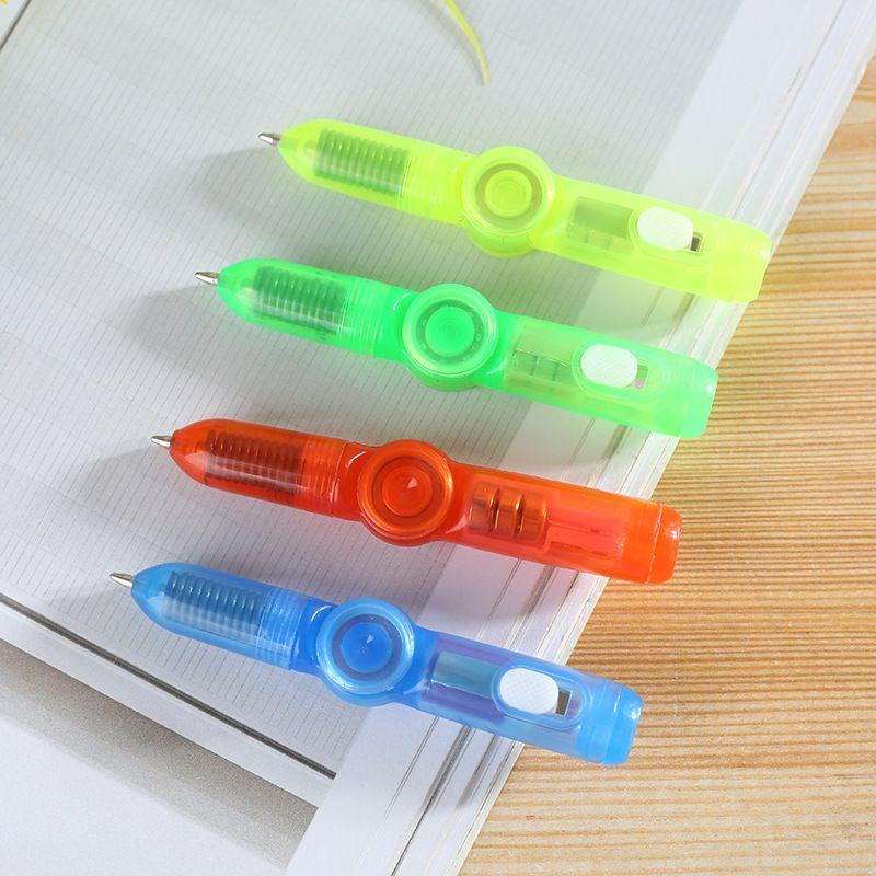 2'de 1 Işık Combo Yaratıcı Görünmez Glow Mürekkep Kalem Bebek Çocuk Yeni Sihirli Gyro Kalem Popüler Rastgele Renk Çocuk Oyuncakları