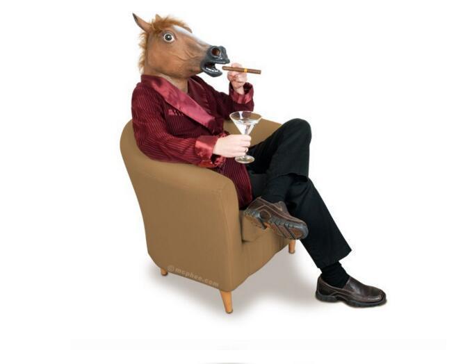 أقنعة قناع مخيف التخرج رأس الحصان هالوين زي مسرح الدعامة الجدة مبيعات رئيس اللاتكس حزب المطاط شحن مجاني
