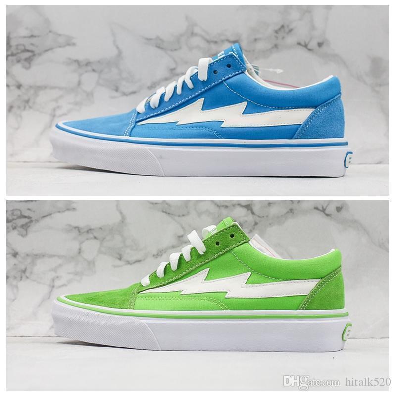 Storm Low Bolt Blue Old Skool Sneakers