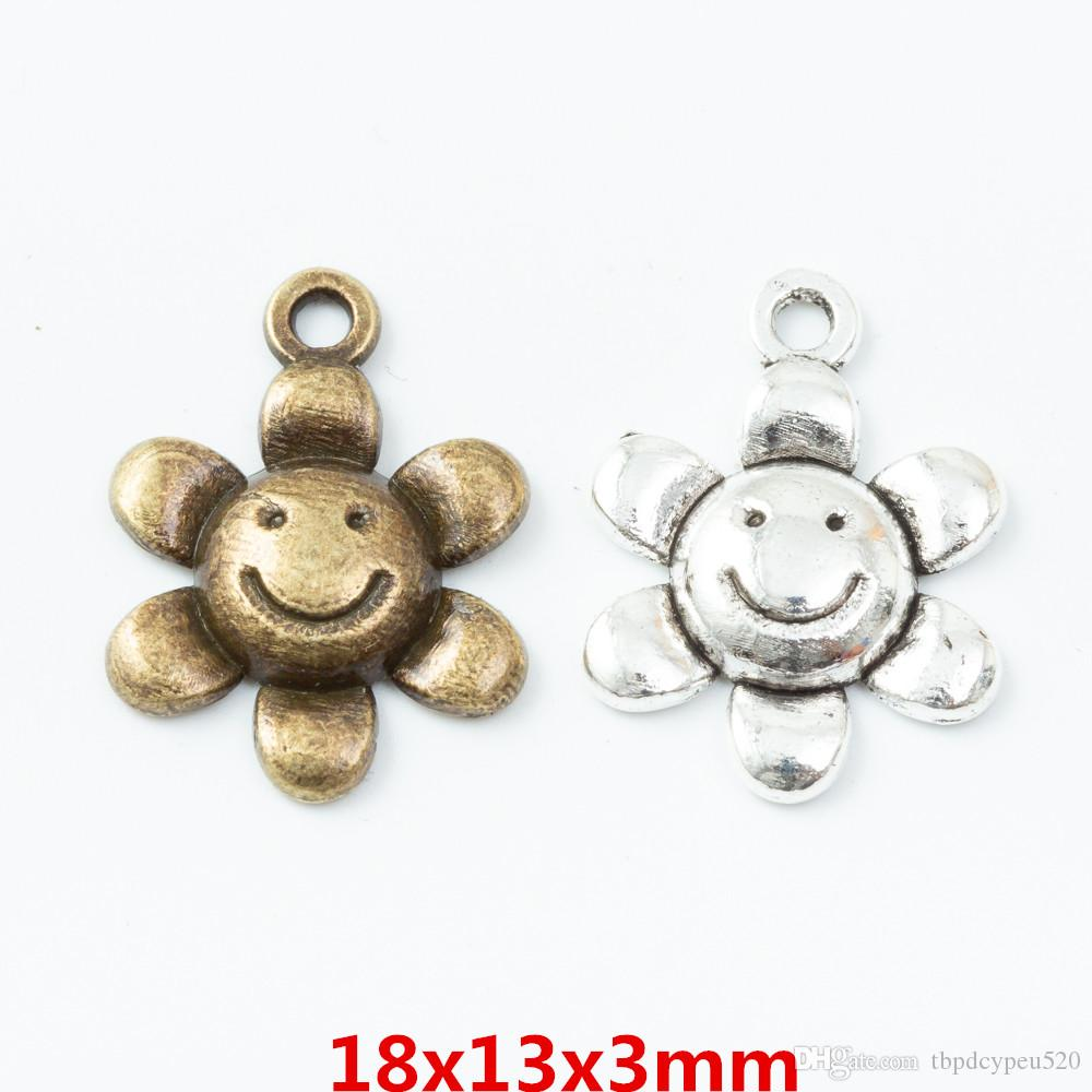 الجملة خمر سحر سبائك الزنك معدن الشمس قلادة زهرة لنتائج مجوهرات ديي 6838