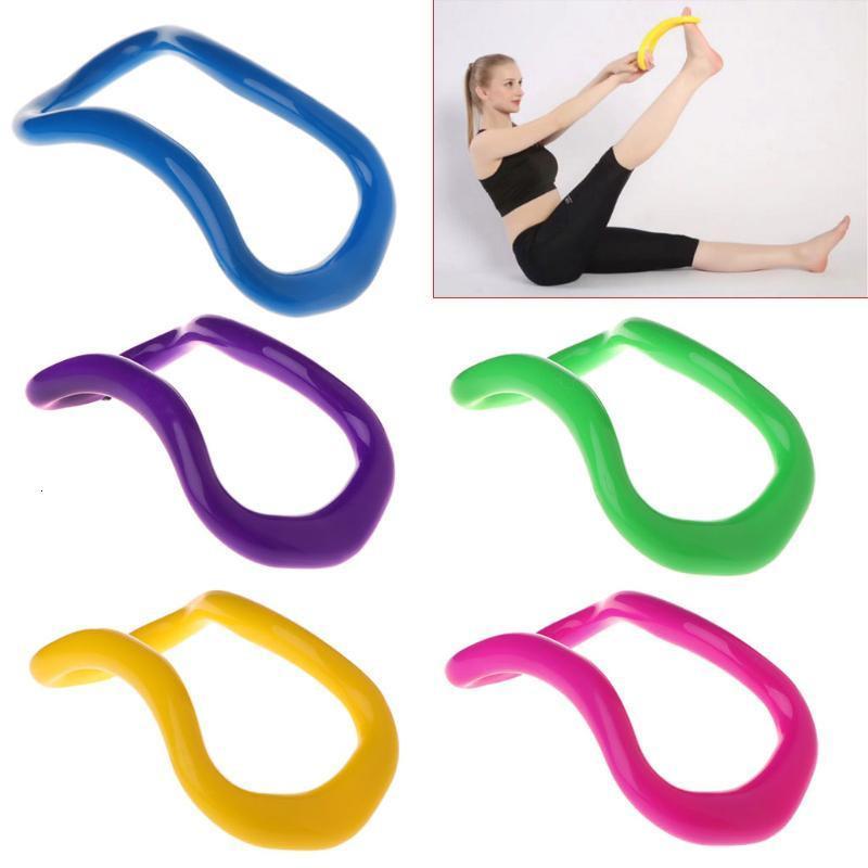 YENİ!!! Yoga Çember Stretchd Yüzük Ev yoga Ekipmanları Kaplaması Masaj Egzersiz Yoga-Ring Pilates Fitness
