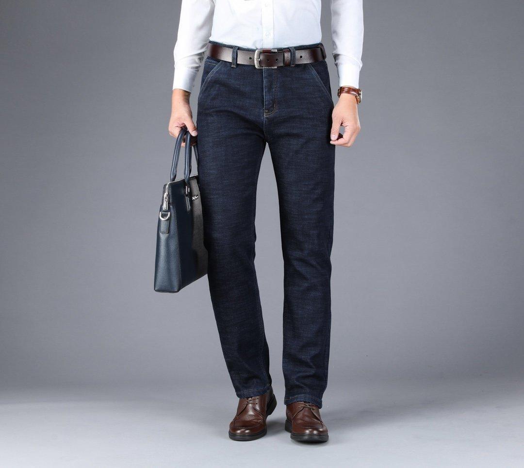 2020 novos de alta qualidade homens de jeans da moda outono calças casuais simples denim 0V9X