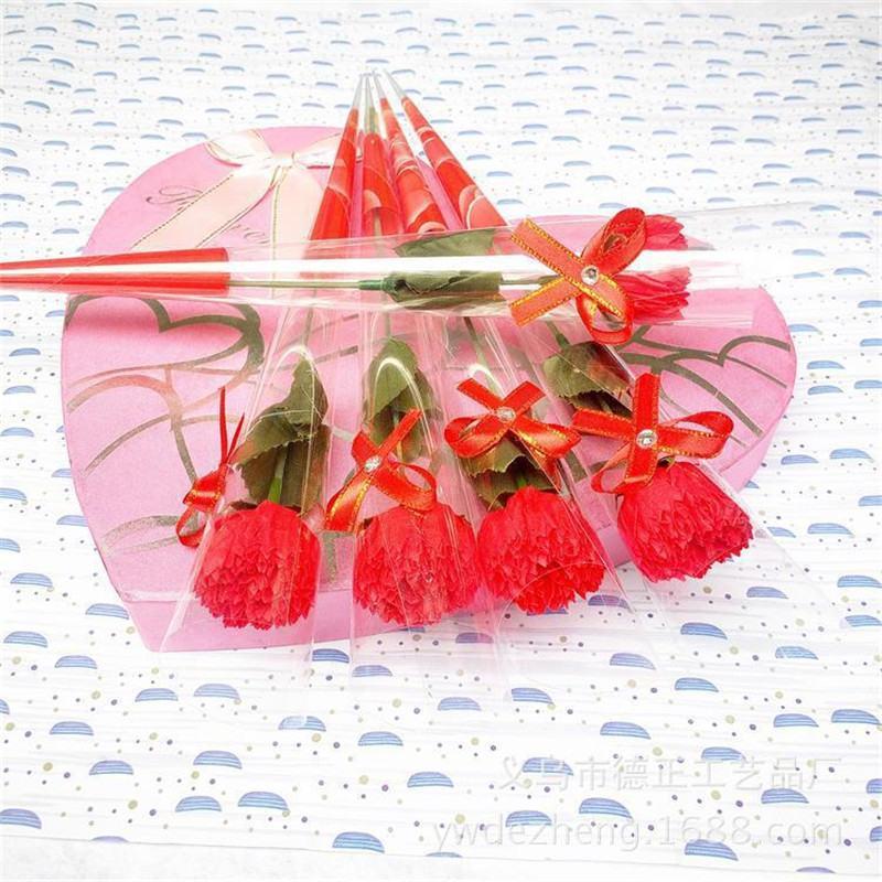 2019 Simulado jabón único Jabón de rosa Flor de jabón Flor del regalo del día de San Valentín Rosa fiesta en casa decoración de la boda