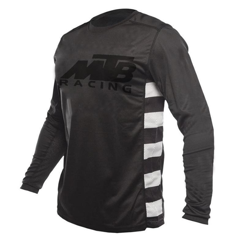 Camisa de MTB Pro Cycling Jersey bicicleta de montaña Ropa MX DH Hombres Jersey motocicleta
