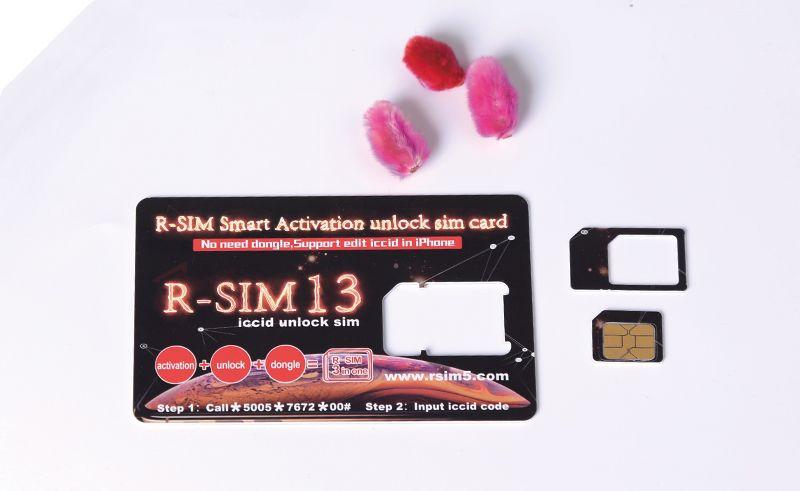 Acheter Original R Sim 13 Activation Intelligente Rsim 13 Deverrouiller La Carte Sim R Sim13 Heicard Carte De Deverrouillage Pour Iphone6 7 8 Xs Max Support Edit Iccid De 1 25 Du Xhwu126 Dhgate Com