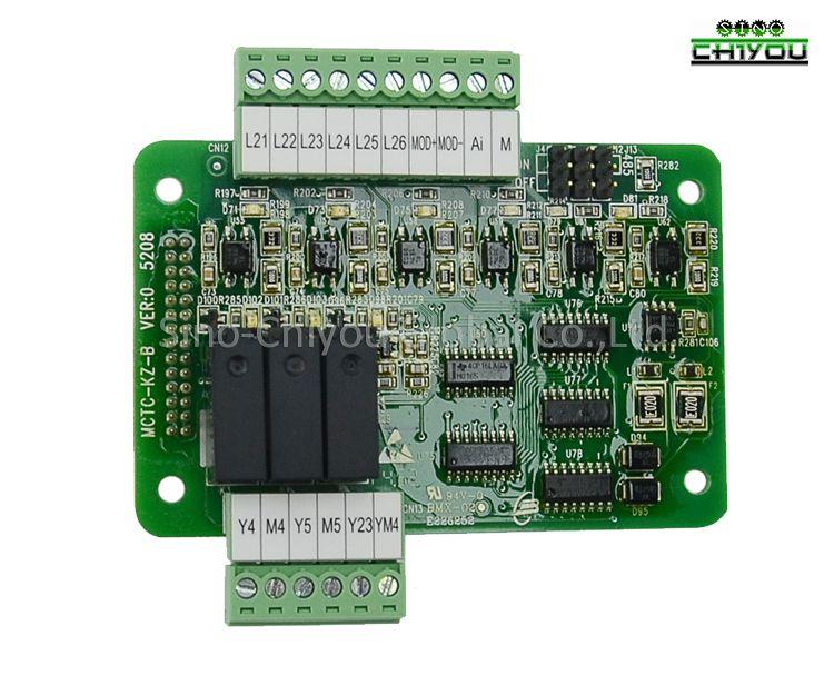 Elevator Monarch boards/MODEL: MCTC-KZ-B floor extension card/lift controller parts