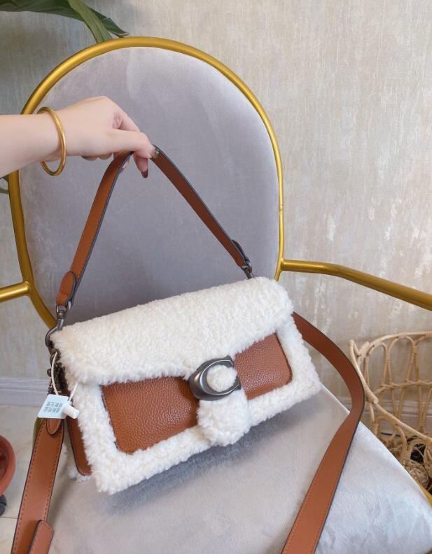 Doce Fashion Totes costura fêmeas Bolsas de Ombro Messenger Bag grife Mulheres Bolsas de Ombro Crossbody Luxury Designer Handbags Purse