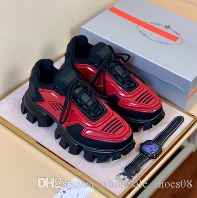 2020 Moda ayakkabılar mens Cloudbust Thunder erkekler basketbol platformu üçlü Sneaker bağbozumu Casual erkek çorap ayakkabı Açık Eğitmenler W22