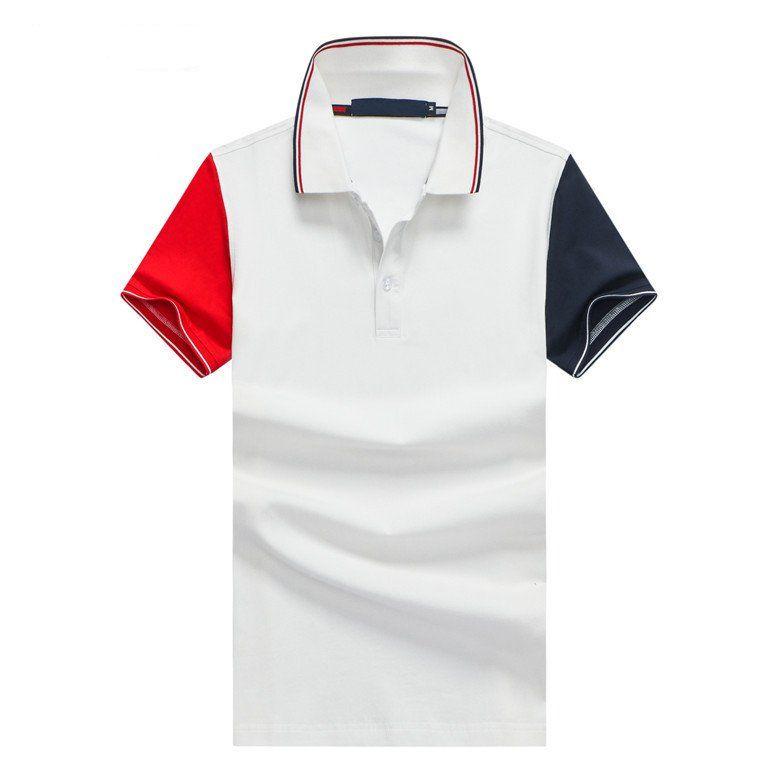 camicie di vendita calda di alta qualità Mens Nuovo Polo The New Brand New VII Crown manica corta grande cavallo Polo maglie degli uomini di polo