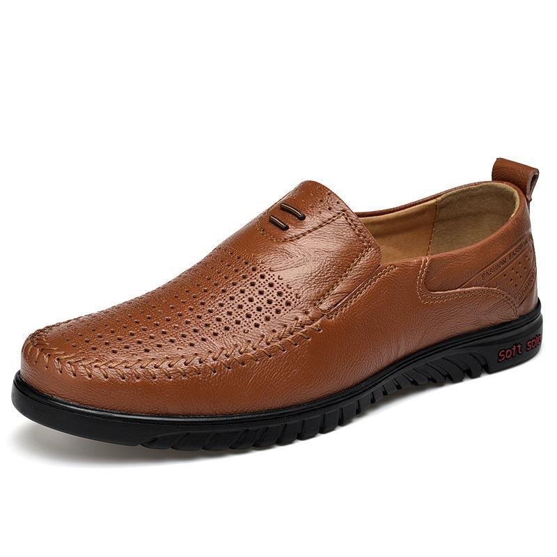 Büyük Beden 47 Yumuşak Alt deri ayakkabı erkekler Loafers Erkekler Günlük Ayakkabılar Sürücü Makosenler Yaz
