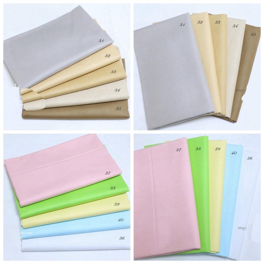 Narin Sarı / Pembe / Yeşil / Mavi / Kırmızı Koyu renk% 100 pamuk Yorgancılık kumaş Giyim Ev Tekstili Yatak Dikiş Doll Kumaş DIY