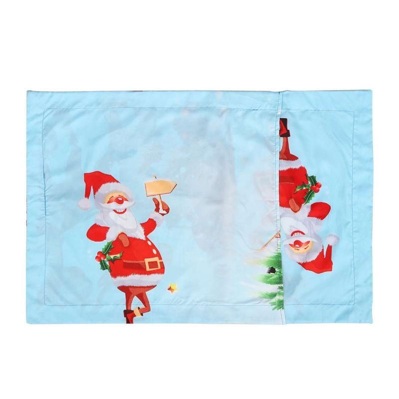 4 шт. / компл. рождественские наборы постельных принадлежностей печатный пододеяльник / одеяло постельное белье наборы постельных принадлежностей пододеяльник+простыня+2 наволочки рождественский декор